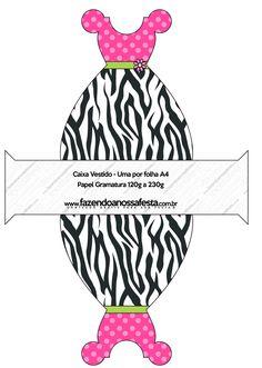 LARGE PARTY PRINTABLE SET- http://fazendoanossafesta.com.br/2014/02/fundo-zebra-e-poa-rosa-kit-completo-digital-com-molduras-para-convites-rotulos-para-guloseimas-lembrancinhas-e-imagens.html