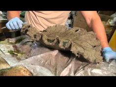 Leaf Casting Part 2 ,for more info go to DIYmolds.com. - YouTube