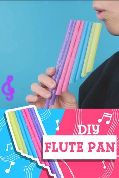 Straw Pan Flute - A Fun and Simple Wind Instrument for Toddlers