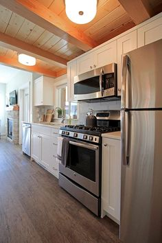 Unique Single Wall Kitchen Cabinets