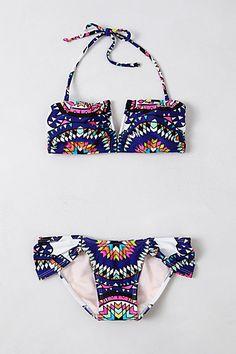 Mara Hoffman Pow Wow Bikini #anthropologie bath suit, fashion, style, cloth, mara hoffman, bikinis, anthropologie, summer, hoffman pow