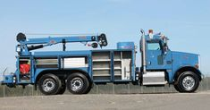 Big Rig Trucks, Semi Trucks, Old Trucks, Highway Maintenance, Car Hauler Trailer, Truck Mechanic, Welding Rigs, Shop Truck, Open Trailer