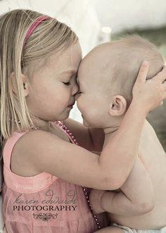 Looks like Ava , always looking out for her little brother, Aidan,........ pure sweeeeeeet... xoxoxoxo