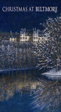 The Biltmore Christmas Wine label 2012