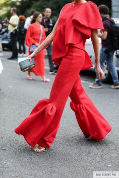 Outside Issey Miyake / Paris Fashion Week SS18