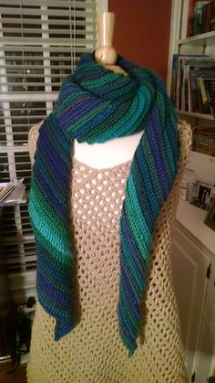 Ravelry: Sands of Time Scarf pattern by Elena Hunt
