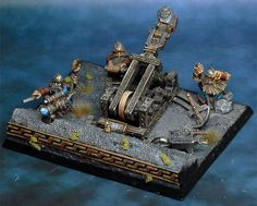 WarHammer Fantasy Dwarf catapult thing that is awesome!