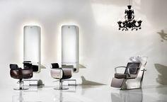 Pietranera Lounge with Sesto Senso Pro Inox washunit, Cocò Black and Cocò White, Light styling unit http://pietranera.com/html/vediambientazioni_all.html?lng=it_lang=1