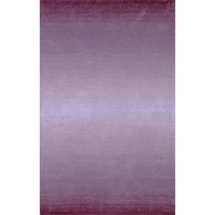 Found it at Wayfair - Ombre Purple Horizon Area Rug