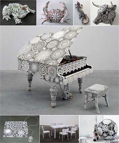 ART-Dentelles et objets de Joana Vasconcelos - Le blog de EasyDoor
