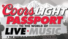 Passport to the World of Live Music Contest