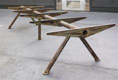 Compas/Arbeitstisch (Table aeronautique) par Jean Prouvé