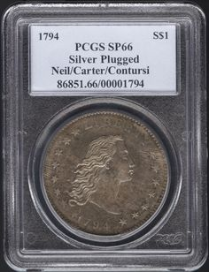 most expensive | Most Expensive Coin - 1794 Liberty Dollar Sets World Record