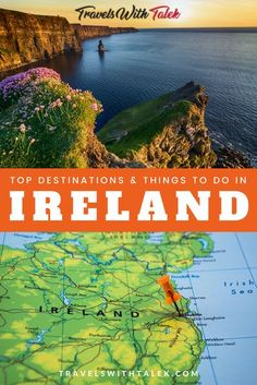 If you're wondering about the best spots to see in Ireland, we've put together a list of the top Ireland travel tips, activities, and destinations to help you plan your Ireland travel itinerary. Learn about all of the cool things Ireland is famous for, where to find the best Irish food, listen to Irish music, and take in scenery that will take your breath away. #ireland #europe #travel #travelitinerary #travelguide Ireland Travel Guide, Europe Travel Guide, Europe Destinations, Travel Guides, Travel Abroad, Travelling Tips, Budget Travel, Costa, Oregon