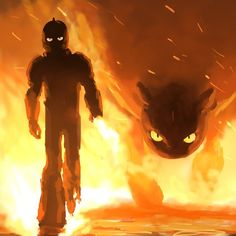 Toothless and Hiccup walking in fire How to train your dragon 3 February 22 Httyd Dragons, Dreamworks Dragons, Disney And Dreamworks, Httyd 3, How To Train Dragon, How To Train Your, Night Fury Dragon, Hiccup And Toothless, Dragon Rider