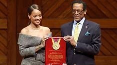 Harvard University honored Grammy Award-winning singer Rihanna with the 2017 Humanitarian of the Year. The university says it chose R. Good Charlotte, Jennifer Aniston, Barack Obama, Rihanna Now, Beyonce, Superstar, Top 10 Hits, Nuclear Medicine, You Go Girl