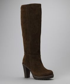 Take a look at this Olive Katima Boot by Blow-Out: Women's Shoes on #zulily today!
