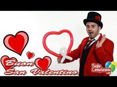 Palloncino Cuore - Balloon Heart Palloncino Cuore - Regalo San Valentino - Costruiamo insieme un Palloncino a forma di cuore con i palloncini modellabili per sculture. Un'idea romantica per festeggiare questo San Valentino.