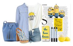 """""""Sunny days ahead"""" by idocoffee ❤ liked on Polyvore featuring Topshop, J.Crew, Report, Eos, shu uemura, Draper James, women's clothing, women, female and woman"""