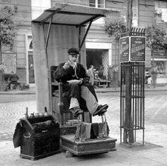 Lustrascarpe Napoli 1950