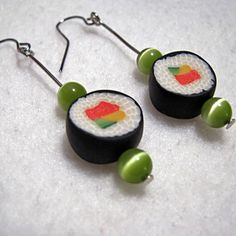 Polymer Clay Food Earrings