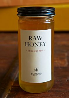 Westwind Orchard Unpasteurized Raw Honey by WestwindOrchard, $12.00