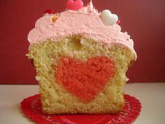 heart cupcake!