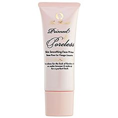 Too Faced's Primed & Poreless may just be my favourite primer ever. It's so smooth, a little goes a very long way and it's so easy to work with. Sometimes, I just wear it alone. Not that cheap (30€) but a great product to have.