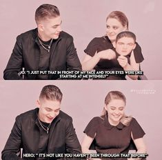 Omg I seriously died when he said that🤧💗 QO Series Movies, Book Series, Crush Movie, After Story, Hardin Scott, He Said That, After Movie, Hessa, Movies 2019