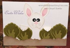 Easter Wishes Card using Build a Blossom stamp set and Blossom Builder punch | Angel Hawks, Make Something Cute