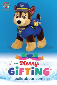 Your favourite Paw Patrol characters are at Build-A-Bear Workshop®! Shop for custom Paw Patrol soft toys, clothing and accessories online. Crafts For Boys, Toys For Boys, Paw Patrol Gifts, Large Toy Storage, Unicorn Rooms, Felt Food Patterns, Custom Teddy Bear, Paw Patrol Characters, Christian Devotions