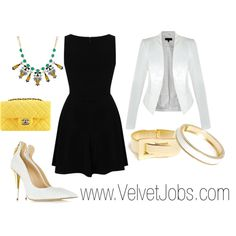 An LBD is something that every woman should have in her wardrobe! www.velvetjobs.com #velvetjobs