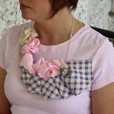 Southern Scraps : Necktie necklace