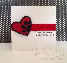 paw print onto heart