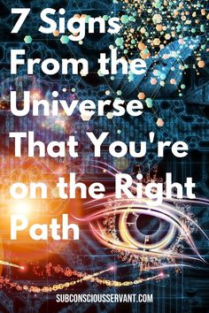 What if the path you're on is the right one but your doubt and worry gets in the way and stops you moving forward? These 7 signs will help you to move forward knowing you're on the right track... #SubconsciousServant #Spirituality #Metaphysical via @subconsciousservant
