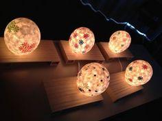 和紙てまり行灯  作り方動画 | 照明塾・教室だより