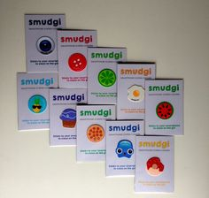 Smudgi Sticky Patch Assorted Pack of 10
