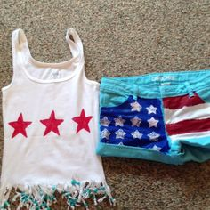cute homemade 4th of july shirts