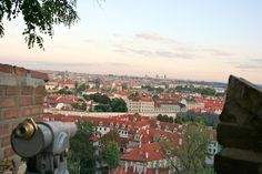 View of Prague from Castle
