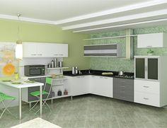 Decoração cozinhas pequenas - http://www.dicasdecoracao.com/decoracao-cozinhas-pequenas/