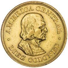 Costa Rica, 10 Colones 1899 Gold