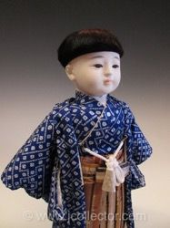 Japanese Ichimatsu Ningyo Doll
