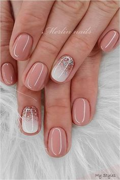 40 Newest Short Nail Art Design Don't Miss In spring And summer - Informatione. Nails Nails Design Year's Nails Nails Nails Day Nails Nails Nails Short Gel Nails, Short Nails Art, Ideas For Short Nails, Short Nail Manicure, Nail Nail, Nail Polish, Stylish Nails, Trendy Nails, Perfect Nails
