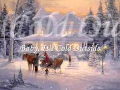James Taylor & Natalie Cole Duet - Baby, It's Cold Outside Christmas Open House, Magical Christmas, Christmas Music, Christmas Movies, Merry Christmas, I Love Winter, Winter Wonder, Winter Art, Kinds Of Music