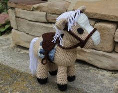 Amigurumi Horse Tutorial : Amigurumi horse tutorial kalulu for