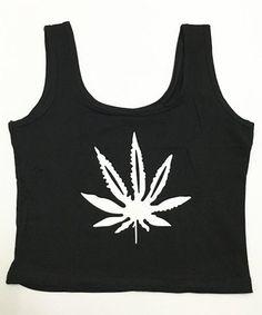Stylish U-Neck Leaf Print Tank Top For Women