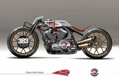 "Indian ""Track Chief"" by Roland Sands"
