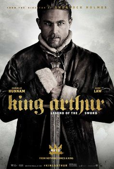 King Arthur : Legend of the Sword (may - Directed by Guy Ritchie, Starring Charlie Hunnam, Annabelle Wallis, Eric Bana, Jude Law King Arthur 2017, King Arthur Legend, Roi Arthur, King Arthur Film, Hd Movies Online, New Movies, Movies To Watch, 2017 Movies, Imdb Movies