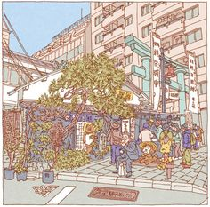 Tsuchimochi's One Hundred Famous Views of Tokyo   Katern: Japan