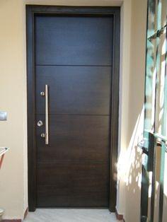 1000 images about puertas on pinterest gates modern front door and driveway gate - Puertas de exterior modernas ...